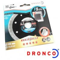 DRONCO F5 CERA SPEED 115MM STONE CUTTING DISC ANGLE GRINDERS GRANITE CONCRETE